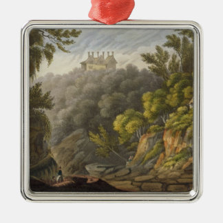Shanklin Chine, from 'The Isle of Wight Illustrate Metal Ornament