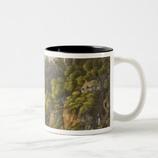 Shanklin Chine, from 'The Isle of Wight Illustrate Two-Tone Coffee Mug