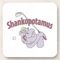 Shankopotamus Cork Coasters (6 coasters)