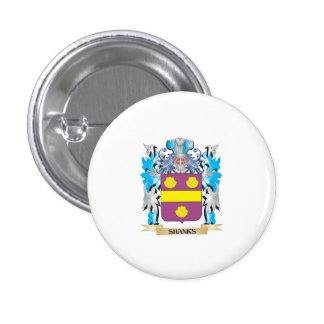 Shanks Coat of Arms - Family Crest Buttons
