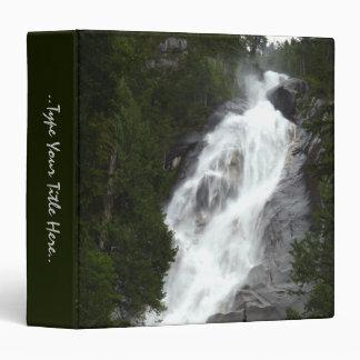 Shannon Falls Binder Custom Waterfalls Photo Album
