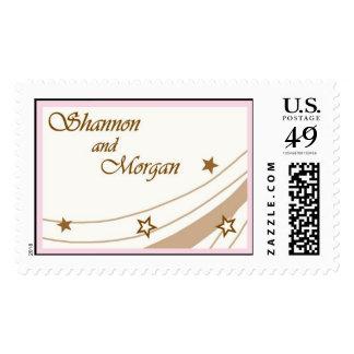 Shannon_Large_Border Postage Stamps