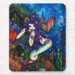 """Shannon"" Mermaid Fantasy Fairy Mouse Pad"