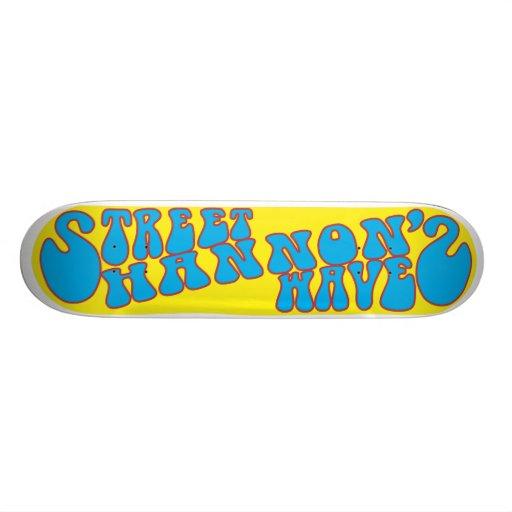 shannons-cenagal tabla de skate