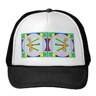 SHANTI = Peace: Karuna Reiki Mesh Hats