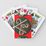 SHANTI Symbol : for Peace Lovers Bicycle Card Deck