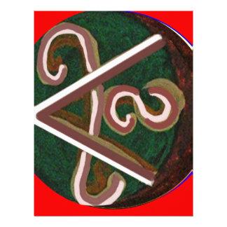 SHANTI Symbol : for Peace Lovers Letterhead