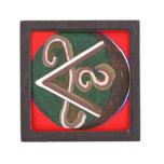 SHANTI Symbol : for Peace Lovers Premium Trinket Box