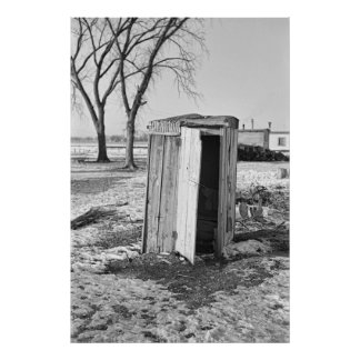 SHANTY TOWN OUTHOUSE1936 POSTER