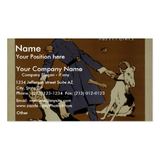 Shanty Town Vintage Theater Business Cards