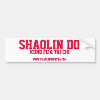 SHAOLIN DO STICKER