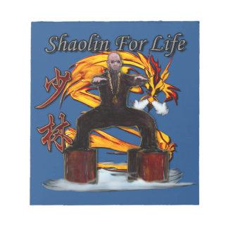 Shaolin Dragon Monk Notepad