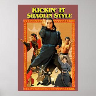 Shaolin Kung Fu Póster