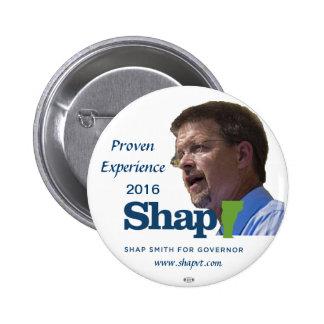 Shap Smith Vermont Governor 2016 button