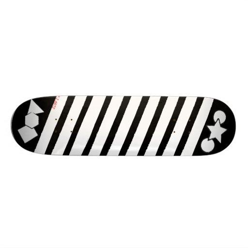 Shape Cut Out Skate Board Deck