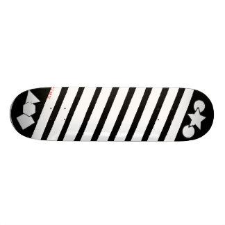 Shape Cut Out Skateboard Deck