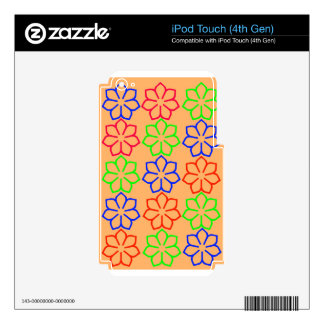 shape iPod touch 4G skins