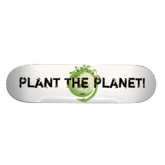 Shape Plant The Planet World Skateboard Deck