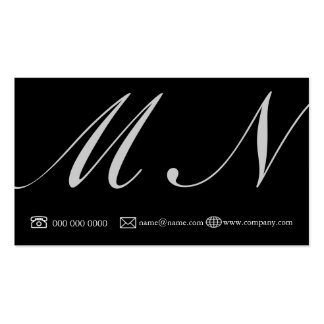 shape_profile_business Double-Sided standard business cards (Pack of 100)