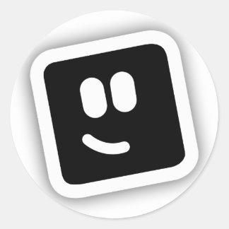 Shape Shape Classic Round Sticker