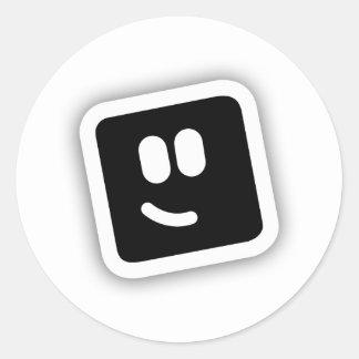 Shape Shape Round Sticker