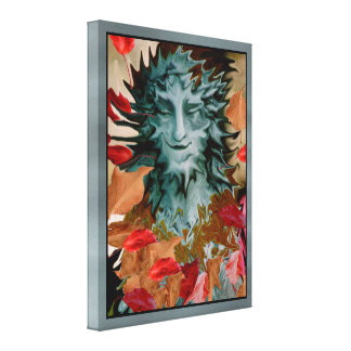 Shape Shifter Stretched Canvas Print