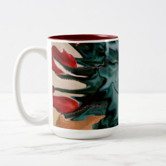 Shape Shifter Two-Tone Coffee Mug