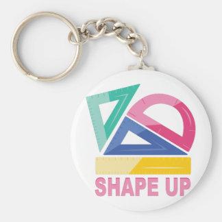 Shape Up Keychain