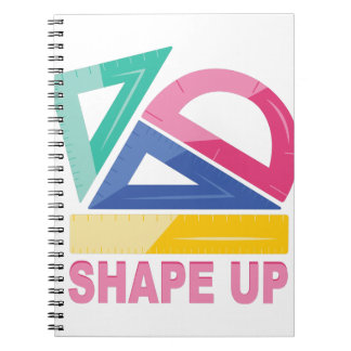 Shape Up Notebook
