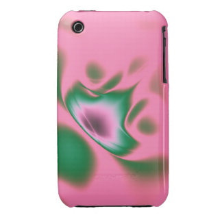 Shape Up Pink Case-Mate iPhone 3 Case