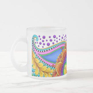 Shape Your History Frosted Glass Coffee Mug