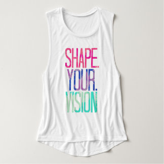 Shape your vision workout shirt