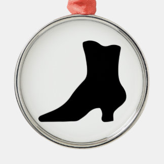 Shapely Victorian Boot Elegant Vintage Fashion Metal Ornament
