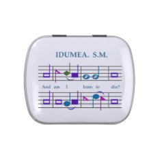 Shapenote Music Candy Tin at Zazzle