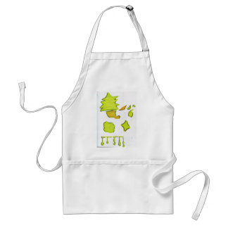 Shapes A Christmas Expression Adult Apron