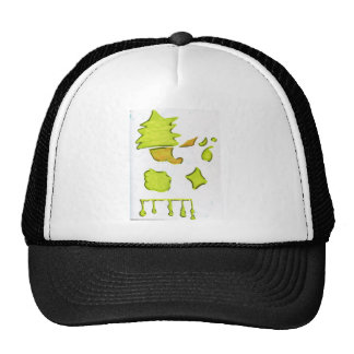 Shapes A Christmas Expression Trucker Hat