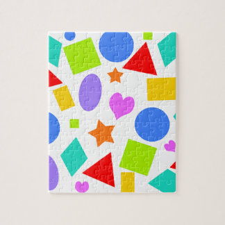 Shapes and Colors Jigsaw Puzzle
