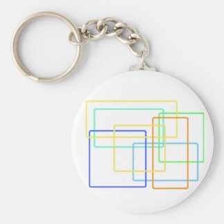 Shapes and Colors Keychains