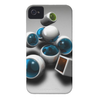 Shapes By RadoSoft Case-Mate iPhone 4 Cases