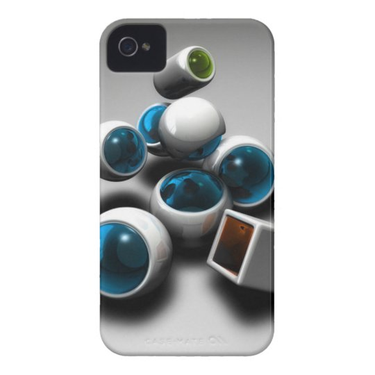 Shapes By RadoSoft iPhone 4 Case