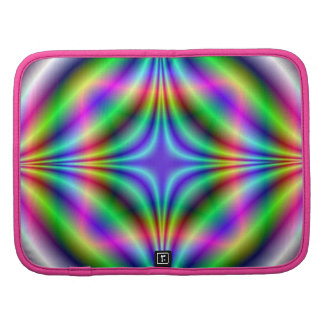 Shapes in Neon Colors Folio Organizer