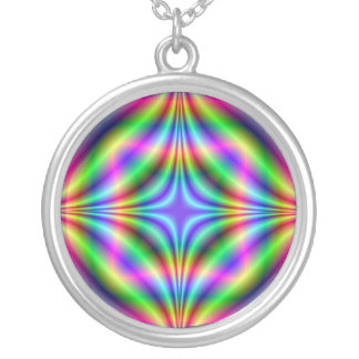 Shapes in Neon Necklace