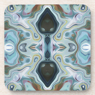 Shapes of Abstract Symmetry Drink Coaster