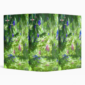 Shapes of Peace in MaMaw's Garden 3 Ring Binder