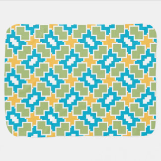 Shapes pattern baby blankets