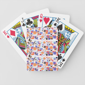 shapes bicycle poker cards