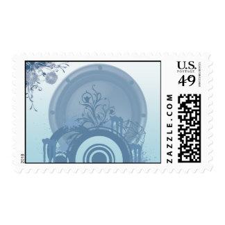 shapes postage stamp