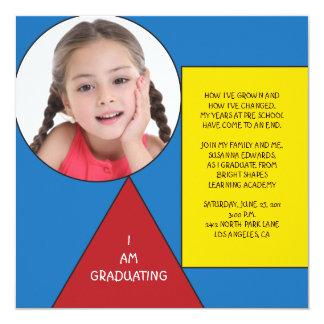Shapes Preschool/Kindergarten Graduation Card