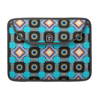 Shapes Rotated MacBook Pro Sleeves
