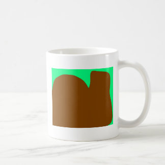 Shapes Sitting side by side to merge Classic White Coffee Mug